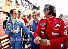 Niki Lauda & Clay Regazzoni & Emerson Fittipaldi F1 Portrait 1974 Photograph