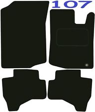 Deluxe Quality Car Mats for Peugeot 107 05-16 ** Tailored for Perfect fit ;) **