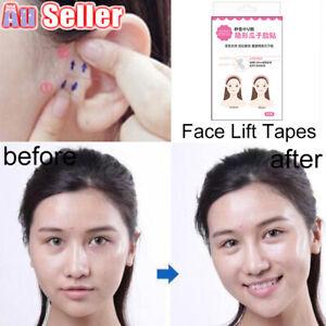 40/80PC Set Face Neck And Eye V Shape Instant Tapes Anti-Wrinkle Lift Facelift