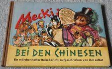 Mecki bei den Chinesen - Hammerich & Lesser Verlag 1955