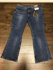 Lee Riders Shape Illusions Slim Boot Jeans Stretch Women Sz 18 P, Easy & Pretty!