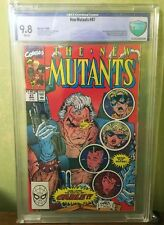New Mutants 87 9.8 NM/MT 1st Appearance Cable Stryfe CBCS cgc deadpool 2 movie