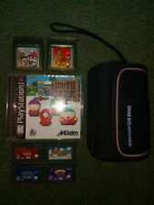 Lot Of Gameboy Games, Case, South Park Ps1
