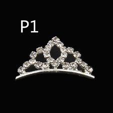 1Pcs Mini Hair Combs 5 Teeth Imperial Crown Bands Hair Accessories Clips 25mm P1