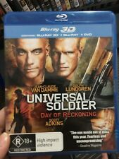 Universal Soldier 4 Day Of Reckoning ex-rental 2D / 3D BLU RAY (2012 JCVD movie)