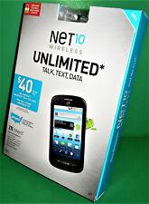 BRAND NEW! ZTE Merit Z990G - Net10 Wireless Prepaid Smartphone (GSM-T)