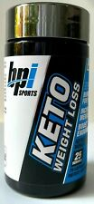 New bpi Sports Keto Weight Loss Ketogenic 75 capsules 25 servings Exp 5/22