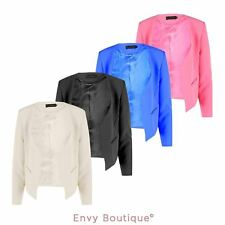 Plus Size Casual Blazers for Women