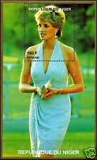 LADY DIANA, PRINCESS OF WALES IN TURQUOISE DRESS