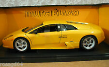 Gate Lamborghini Murcielago Metallic Yellow Car Die-Cast 1:18 Scale! NEW In Box