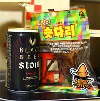Korean Seasoned Dried Squid Short Dari(Legs) Snack for Beer, Relish 3,9,18,37ea