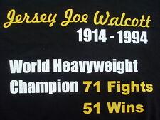 Boxing Legends T-shirts Jersey Joe Walcott  All Sizes Inc 4XL 5XL Christmas Gift