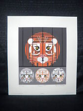 "Edie Harper""Copycats"" Cat Limited Edition Serigraph"