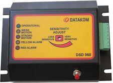 DATAKOM DSD-060 Unidade de parada de terremoto com sensor de atividade sísmica