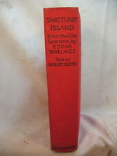 RARE OLD BOOK SANCTUARY ISLAND FROM  FILM SCENARIO EDGAR WALLACE ROBERT CURTIS