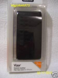 Griffin vizor flip-top case for original IPhone
