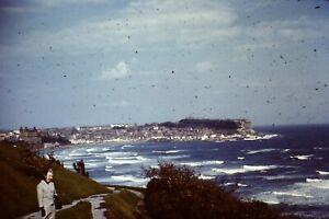 3 x 35mm Colour Slides - Scarborough Bay - 1960s I Think