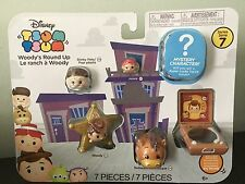 Disney Tsum Tsum Series 7 - 7-Pack Mini-Figures with Woody's Round Up (JAKKS)
