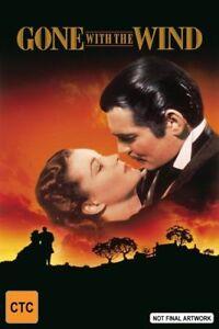 Gone With The Wind DVD 1939 Region 4 Drama - David O SELZNICKS
