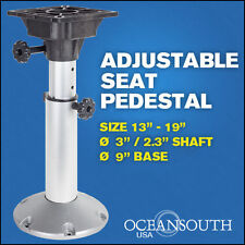 "Boat Seat Pedestal Adjustable 13"" - 19"""