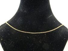 Beautiful  9ct Gold Belcher Chain 16'' , Fully Hallmarked London 1966