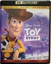 Disney Pixar Toy Story 4K Ultra Hd Blu Ray 2 Disc Set Free World Wide Shipping