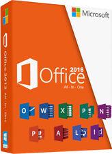 Microsoft Office 2016 Pro Plus Full 32/64 Bits Multilenguaje 1 Pc Key Serial