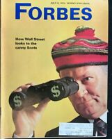 FORBES Magazine July 15 1973 WALL STREET / Pullmans / De Beers / The Funds