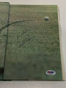 Arnold Palmer Signed Autograph My Game and Yours PGA Golf Book PSA DNA