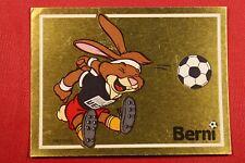 PANINI EURO 88 # 37 MASCOTTE BERNI NEW WITH ORIGINAL BACK!!