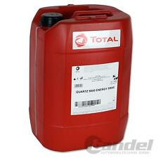 [3,50€/L] 20 Liter TOTAL Quartz 9000 ENERGY 5W-40 Motoröl 5W40 VW MERCEDES BMW