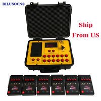 Ship From USA 24 Cues fireworks firing system 500M distance program