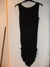 Gorgeous Black Slouch Side Dress from Closet - Size 8 - BNWOT!!