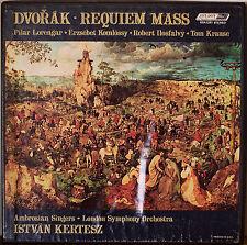 DVORAK: Requiem Mass-M1969 2LP BOX w/BOOKLET TOM KRAUSE/LSO/KERTESZ