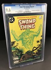 SAGA OF THE SWAMP THING #37 CGC 9.6 1ST JOHN CONSTANTINE White Pages Maybe 9.8?