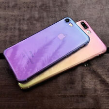 Ombre Funda de Silicona Gel TPU Slim Carcasa Cover Case Para iPhone X 8 6 7 Plus