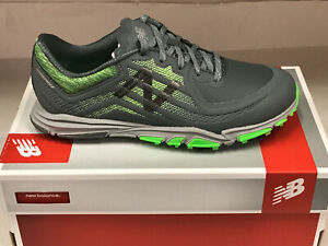 New Balance Minimus Tour NBG1007 Grey/Green Men's Golf Shoes 9.5M Were $120