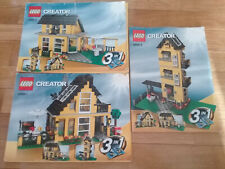 LEGO CREATOR 4996: BEACH HOUSE - INSTRUCCIONES - INSTRUCTIONS