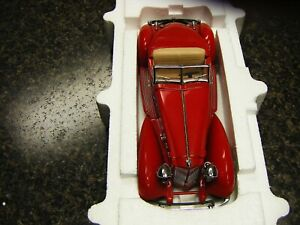 Danbury Mint 1934 Packard V-12 LeBaron Speedster 1:24 Scale Die Cast!