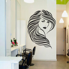 Vinyl Art Wall Decals Beauty Hair Salon Sticker Barbershop Hairdressing