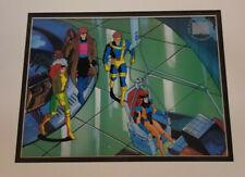 Marvel:X-Men Gambit,Rogue,Cyclops,Jean Grey Limited Edition Seri Cel Framed