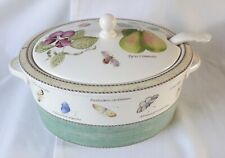 Wedgwood Sarah's Garden Soup Tureen With Ladle Boxed