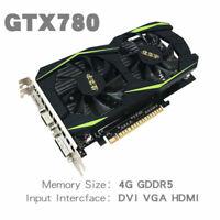 GTX780 4G 128bit DDR5 Gaming VideoGraphics Card For Desktop Computer Gaming CDD