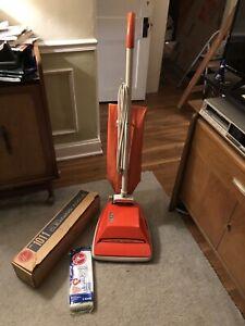 Vintage Hoover Convertible Vacuum Model U4061 With Tools