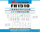 Flyhawk FH1510 1/700 Scale German Navy Anti-Aircraft Weapons I