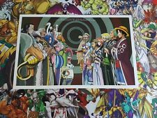 ■ COLLECTOR ■ ONE PIECE ILLUSTRATIONS CARTONNÉES A4 AFFICHE POSTER