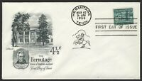 #1037 4 1/2c The Hermitage, Artmaster-Addressed FDC **ANY 4=FREE SHIPPING**