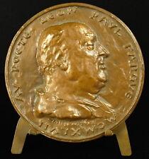 Medaille au poète et écrivain Léon-Paul Fargue Symbolisme 400g sc R Corbin medal