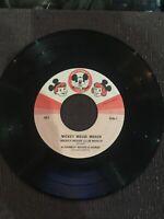 "Walt Disneys Micky Mouse Club March Record DBR50 7"" 45rpm"