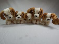 5X Plush Animal Puppy Dog 5 pcs Set From UK Last Stock #C118-FAM CLOSING